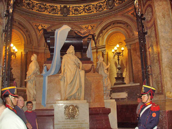 Tomb of the Great Liberator, Jose de San Martin