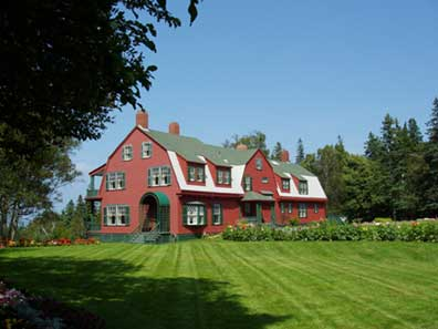 Roosevelt Cottage - Campobello Island, NB    August 2004