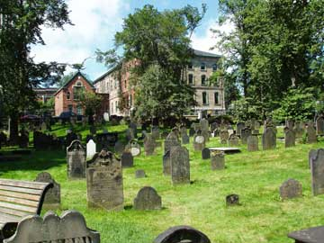 Old Burying Ground     Halifax, NS      August 2004