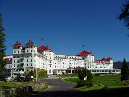 Mount Washington Hotel    Bretton Woods, NH