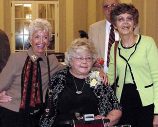 Dee, Maggie and Joy at Maggie's Retirement Party