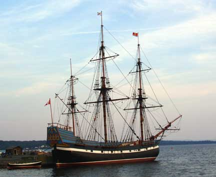 The Hector - Pictou Harbor    August 2004
